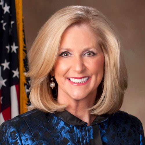 Lynn Fitch, ex officio Board Member of the Mississippi Lottery Corporation