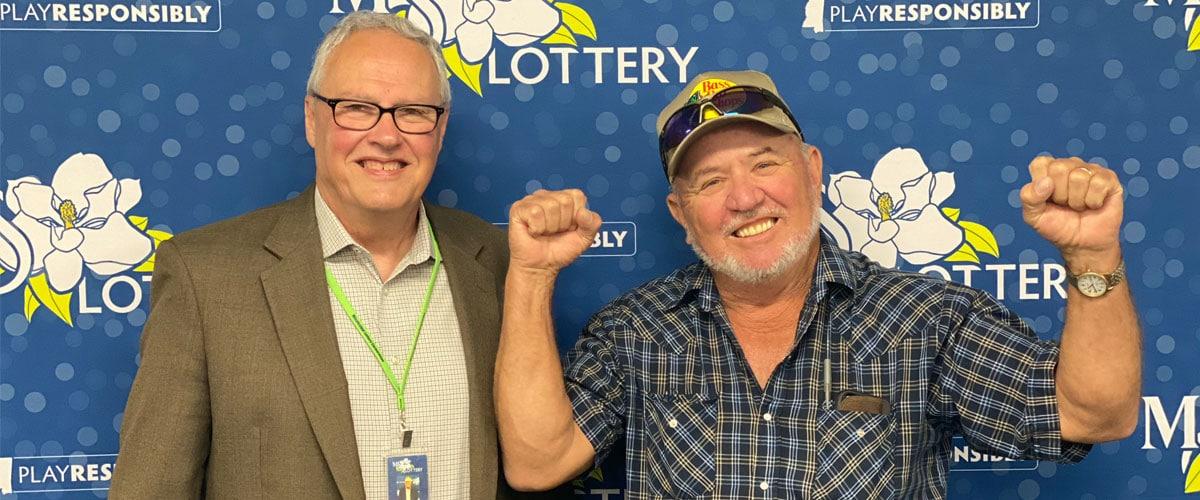 David Bond, Mississippi's first scratch-off winner