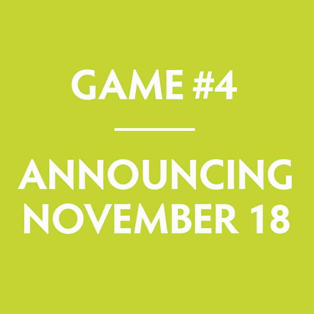 Scratch off game #4 will be announced on November 18, 2019