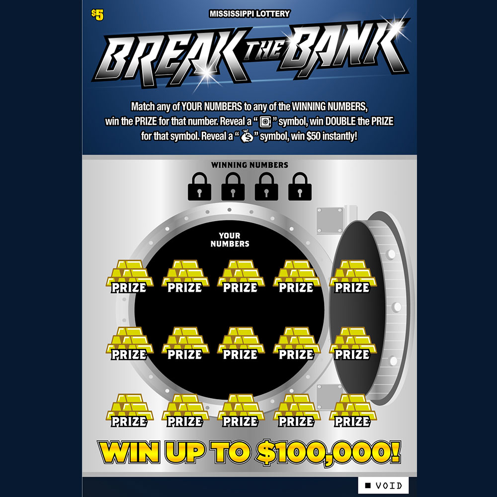 Break the Bank Scratch-Off Game