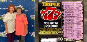 Byram sisters win $500 on Triple 777