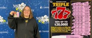 Corinth couple wins $2,000 on Triple 7s