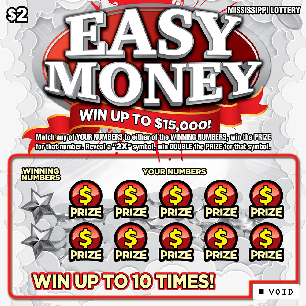 Easy Money Scratch-off Game