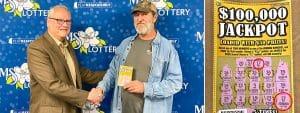 Jimmy Keene, our first $100K Jackpot winner from Pelahatchie