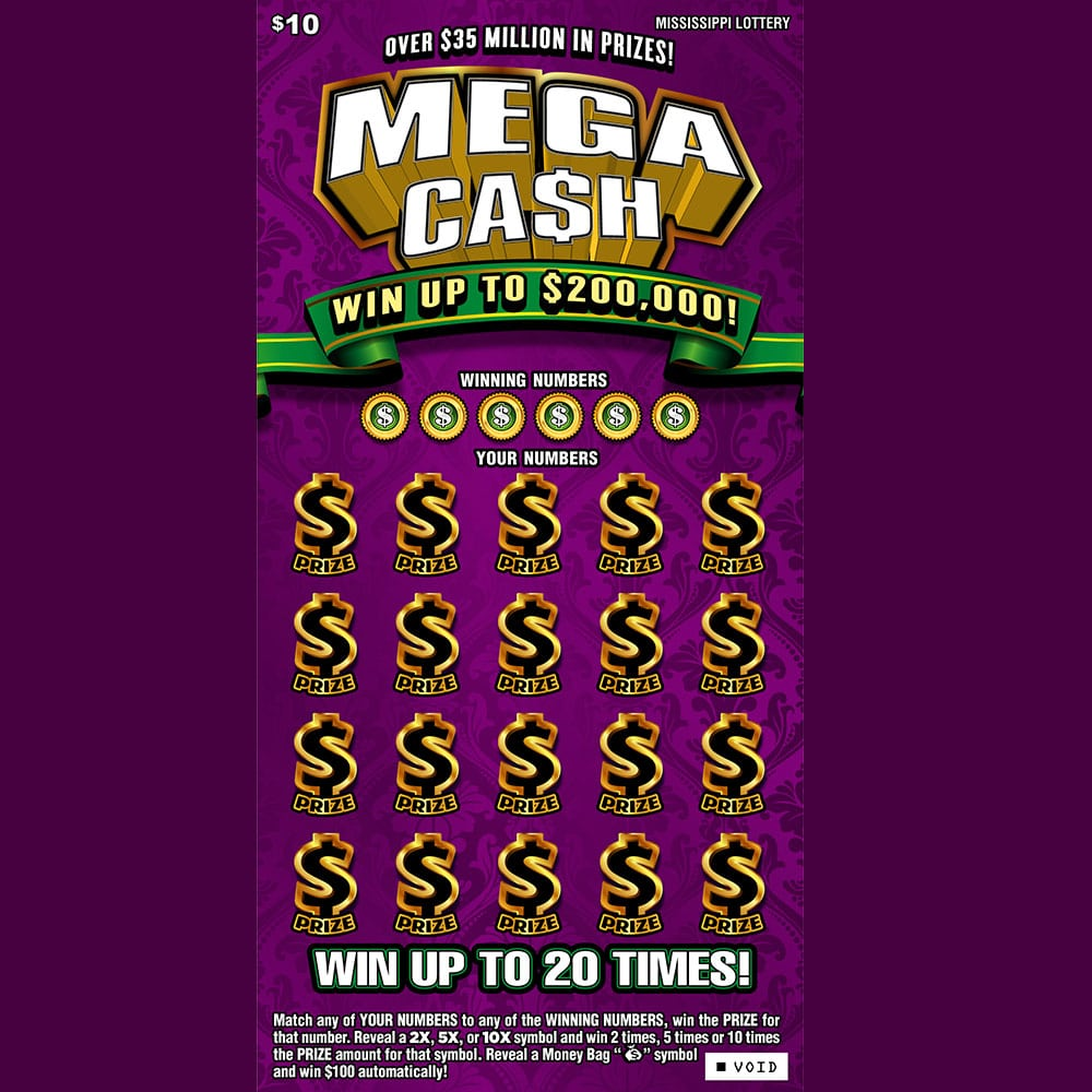Mega Cash Scratch-off