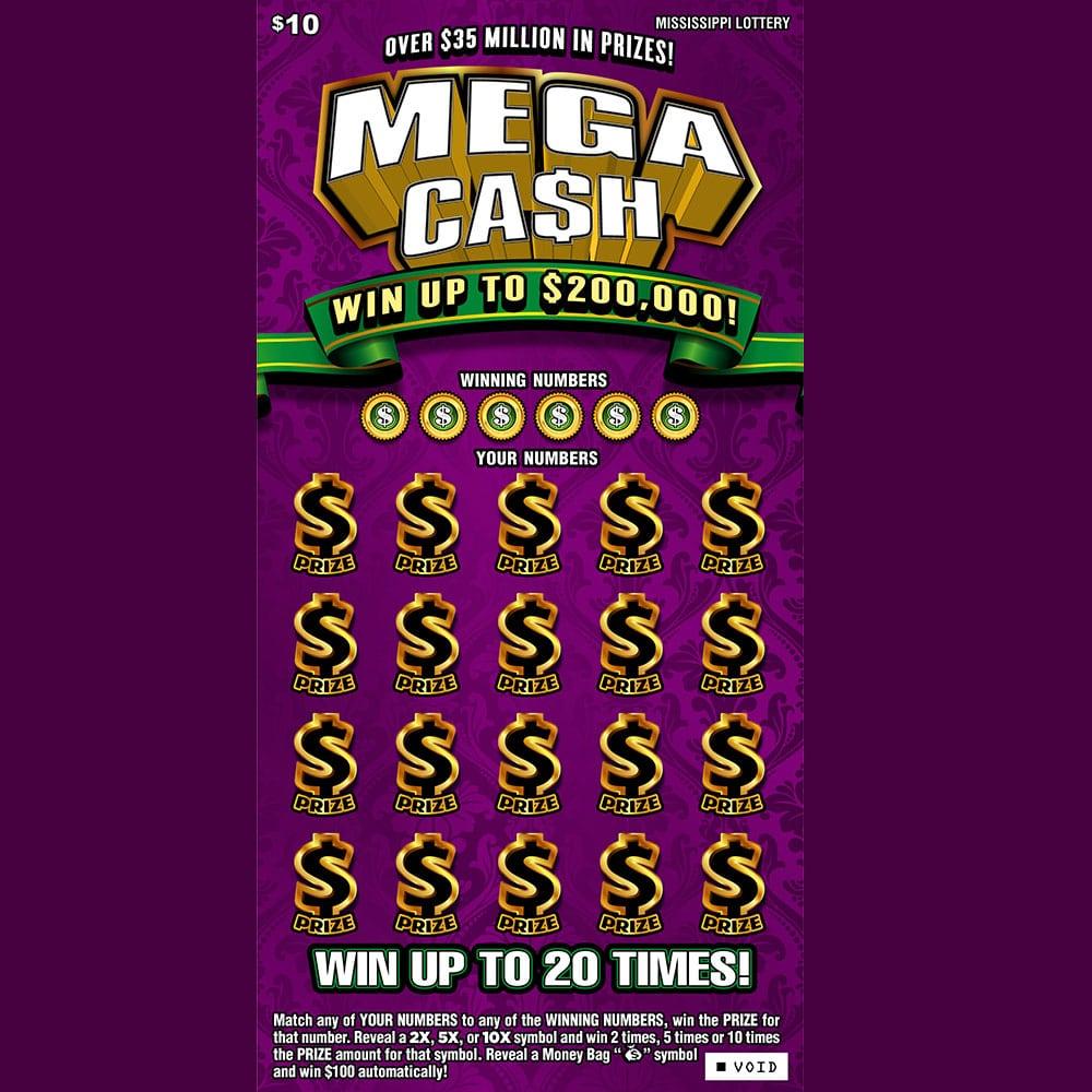 Mega Cash Scratch-off