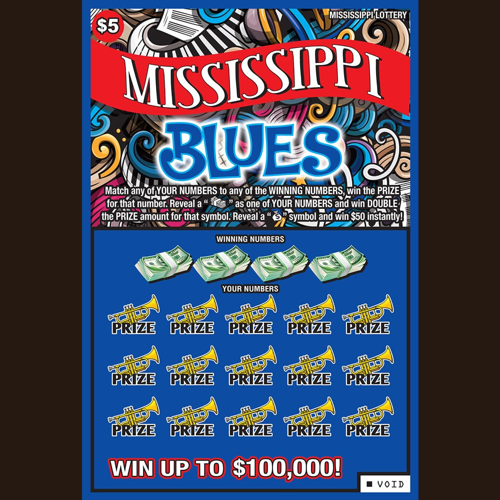 Mississippi Blues Scratch-off Game