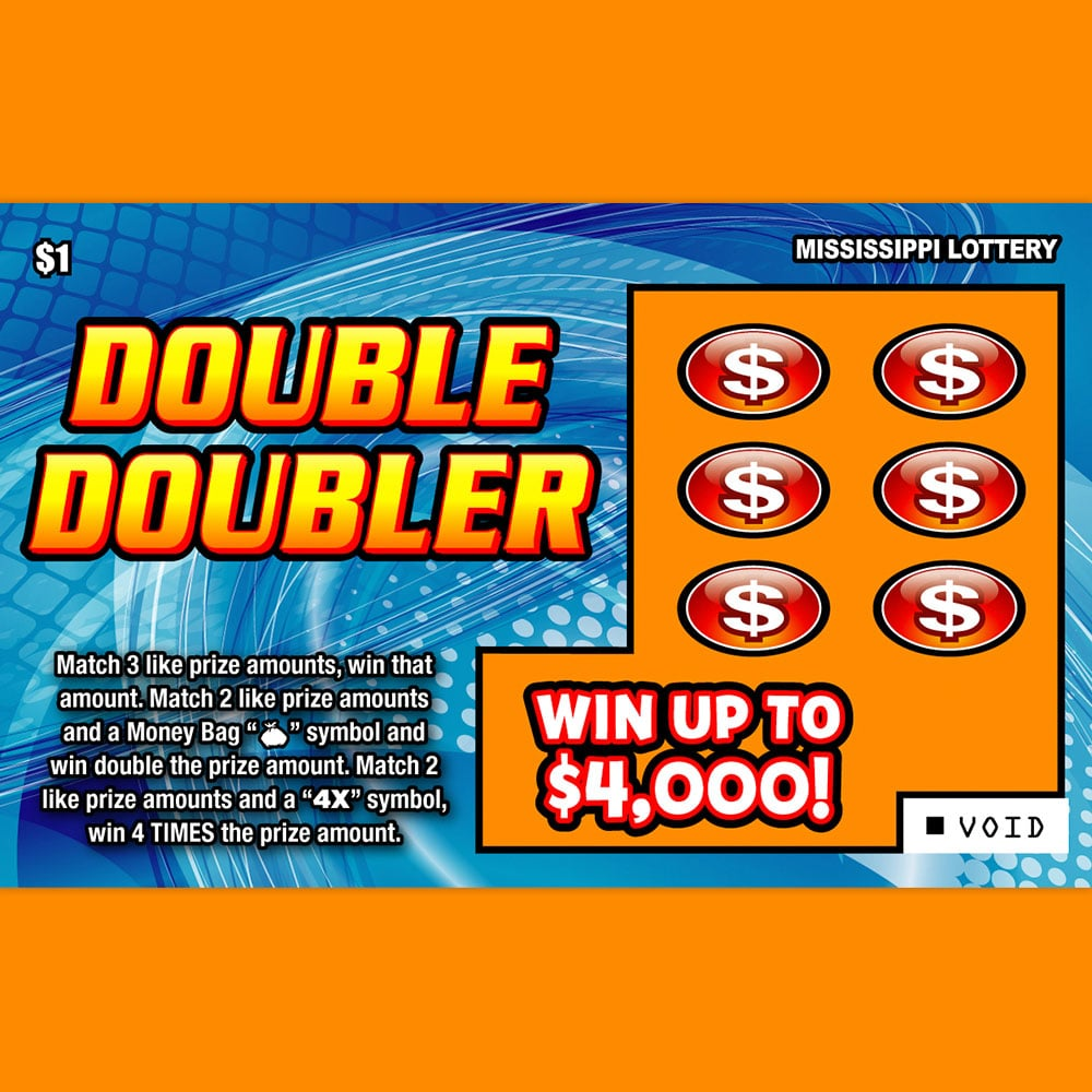 Double Doubler scratch-off