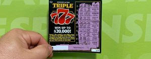 Bay Springs man wins $20,000 jackpot on Triple 777 scratch-off