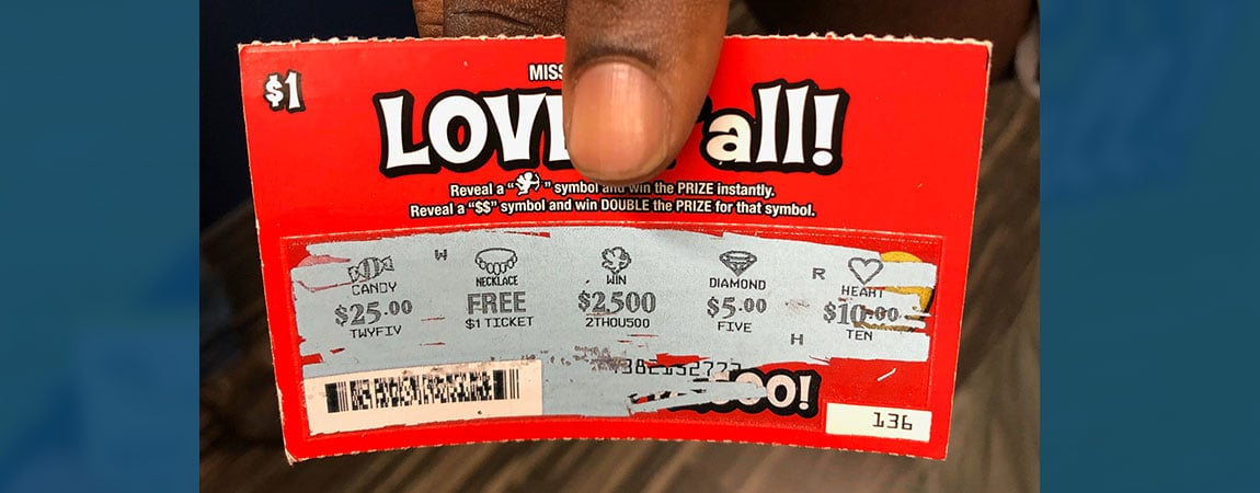 Bay Springs man wins $2,500 on Love y'all scratch-off