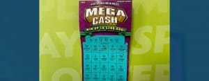 Clinton man won $25,000 from a Mega Ca$h scratch-off game