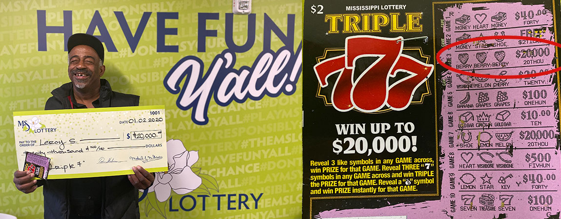 Leroy of Forest wins $20,000 on Triple 777