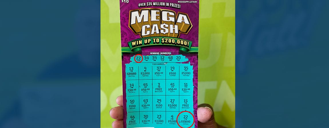Dekalb woman wins $10,000 on Mega CA$H scratch-off