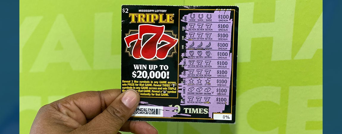 Meridian woman wins $2,000 on Triple 777