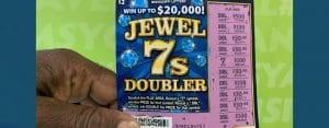 Oxford man won $2,000 from a winning Jewel 7s Doubler