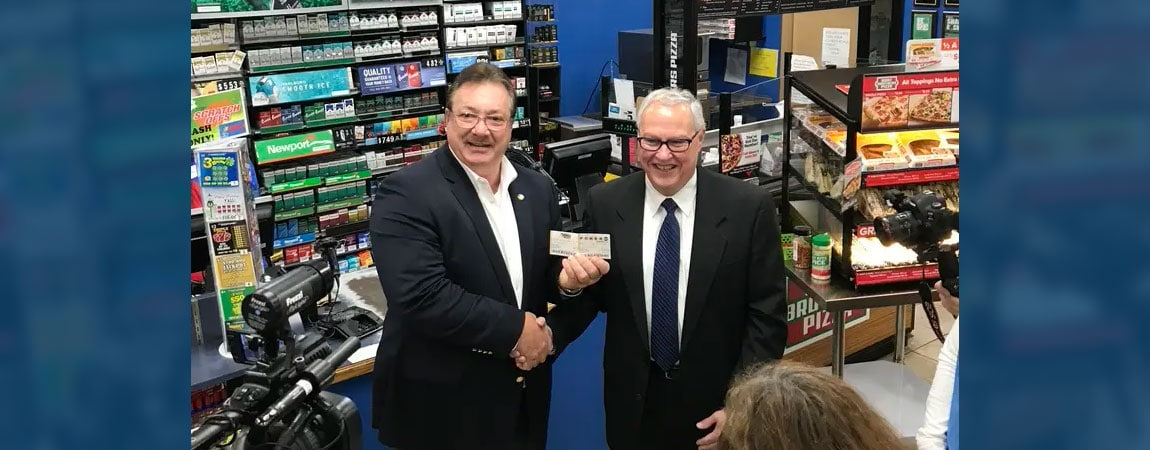 Powerball and Mega Millions Launch with Philip Moran and Tom Shaheen