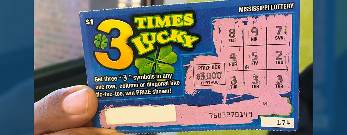 Cary Couple wins $3,000 on 3 Times Lucky Scratch Off