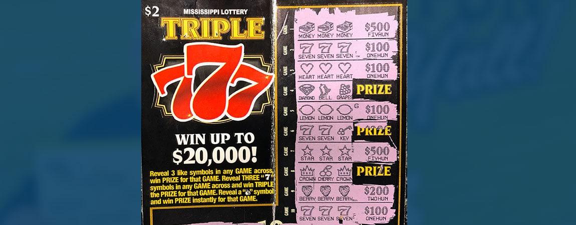 Saltillo woman wins $2K from Triple 777