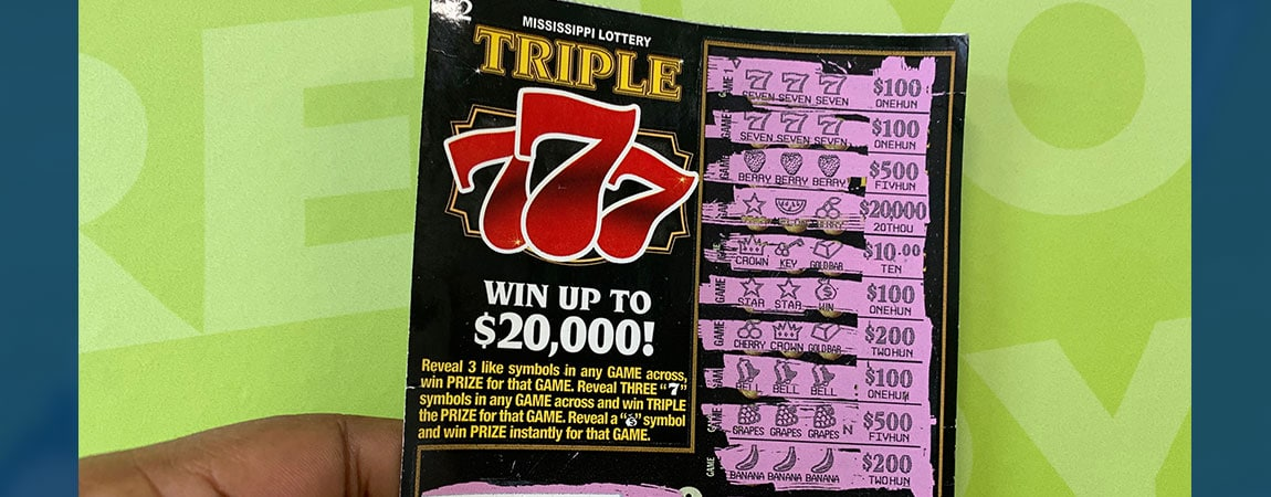 A Macon woman won $2,000 on a winning Triple 7s scratch-off game purchased at Sprint Mart in Columbus.