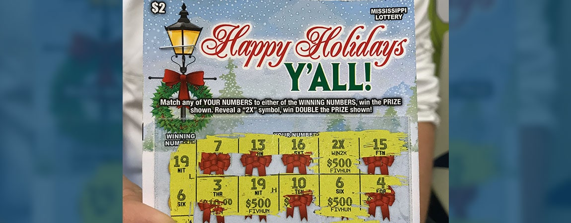 Walls man wins $2K on Happy Holidays Y'all