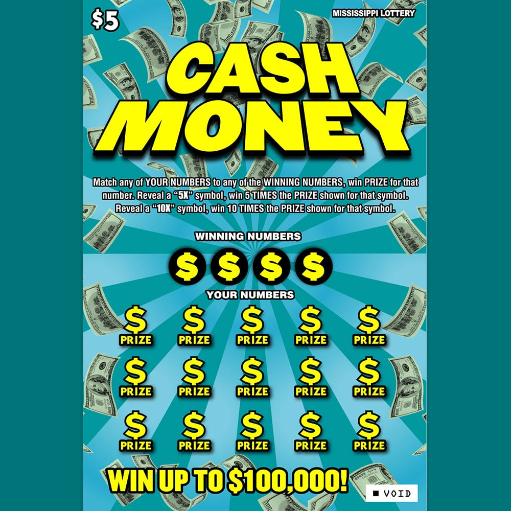 Cash Money scratch-off