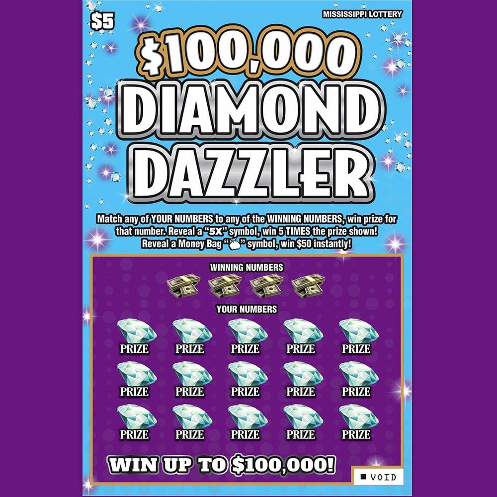 Diamond Dazzler scratch-off
