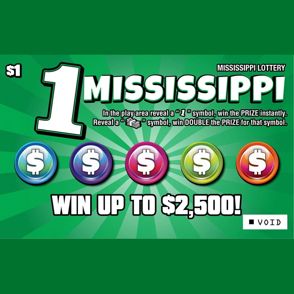 One Mississippi scratch-off game