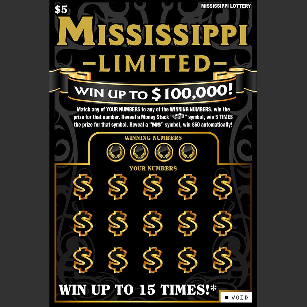 Mississippi Limited scratch-off game