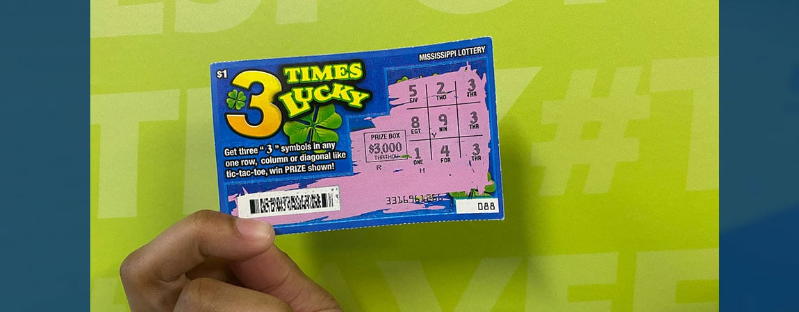 Crystal Springs woman wins $3,000 on a 3 Times Lucky