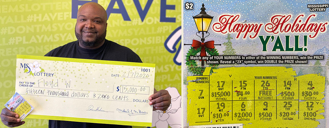 Floyd of West Point wins Happy Holidays jackpot
