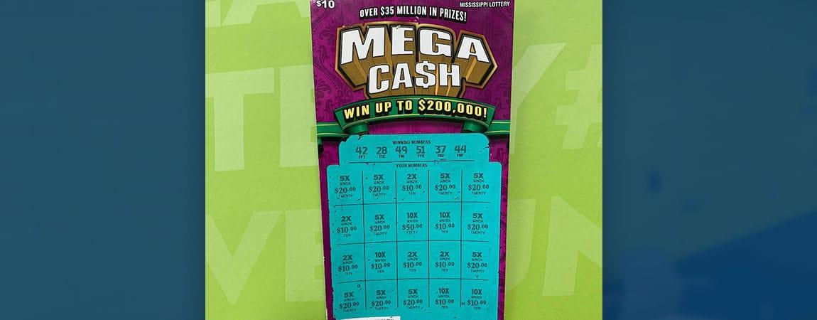 Sherman woman won $2,000 on Mega Ca$h scratch-off