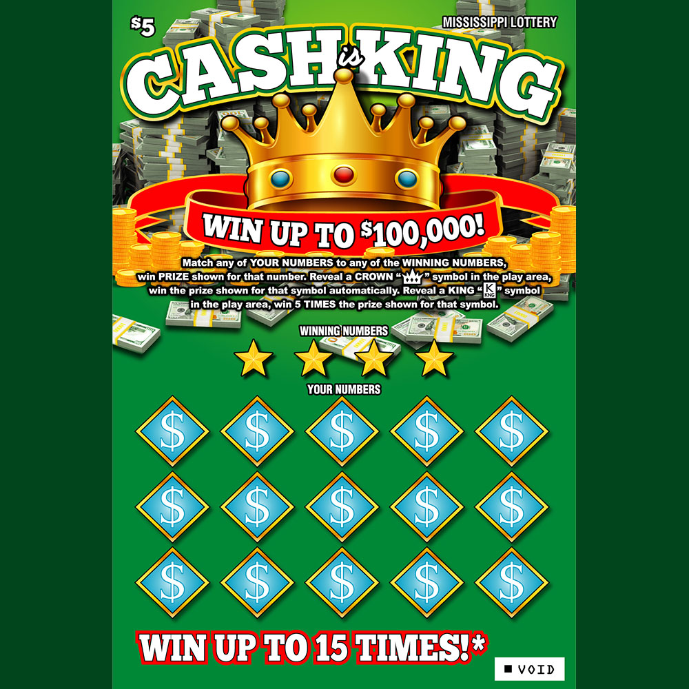 Cash is King Instant Scratch-off