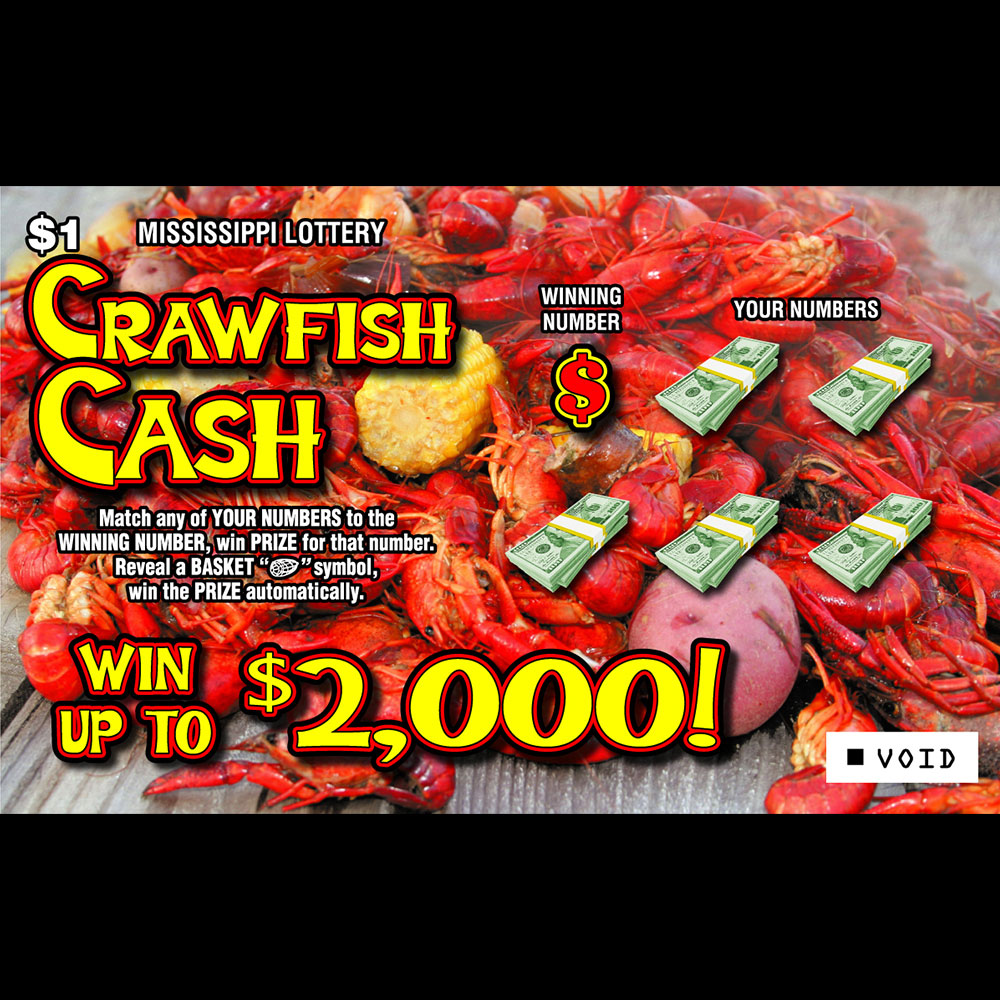 Crawfish Cash - Instant Scrach-off game