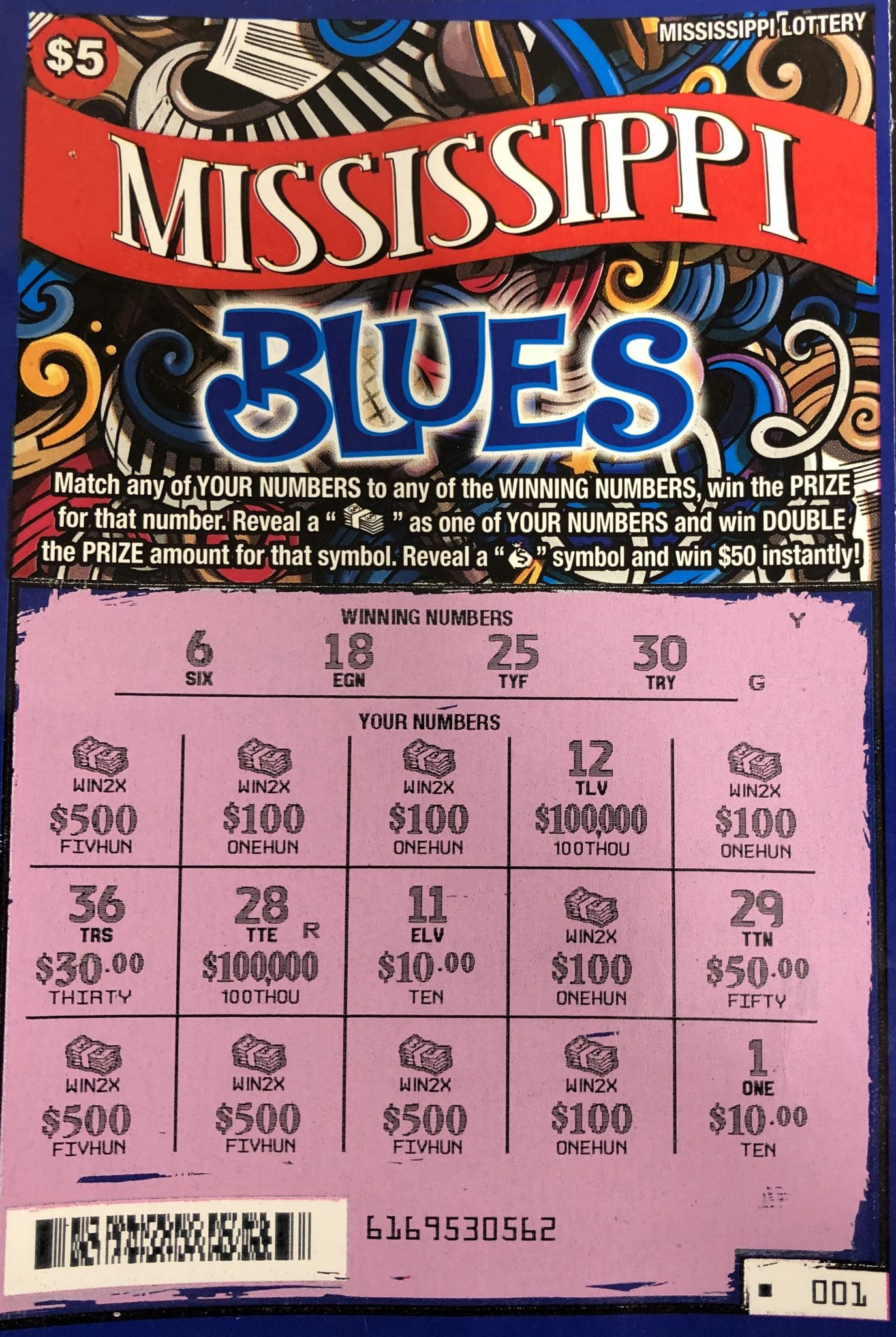 Canton Woman Wins $5K! - Mississippi Lottery
