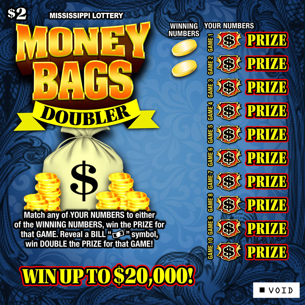 Money Bags Doubler Scratch-off Game